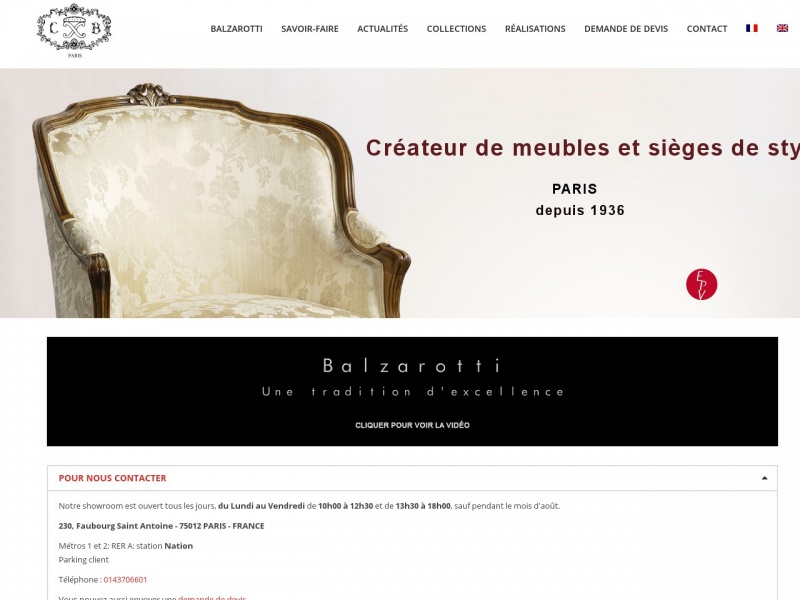 Balzarotti - Paris 12e