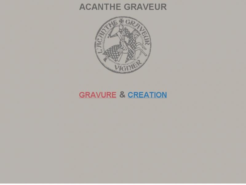L'Acanthe Graveur - Paris 1er