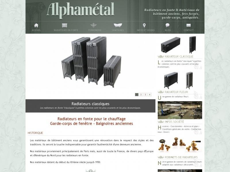 Alphamétal - Montreuil