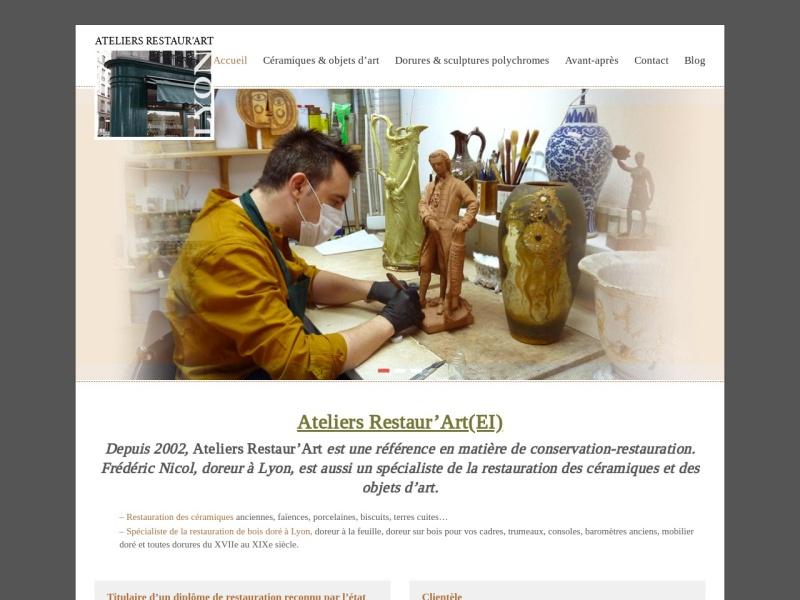 Ateliers Restaur'Art - Lyon 1er