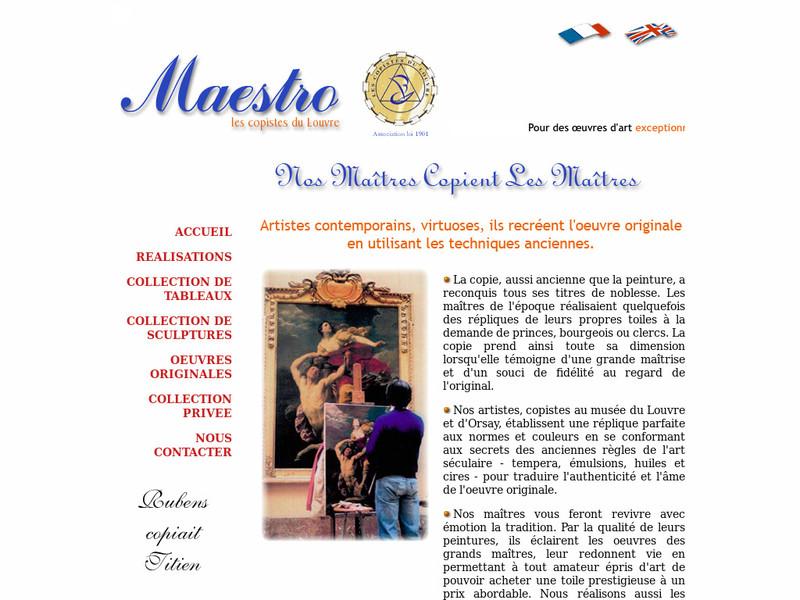 Maestro, les Copistes du Louvre - Courbevoie