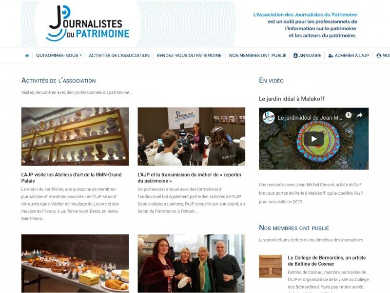 Association des Journalistes du Patrimoine - Paris 4e
