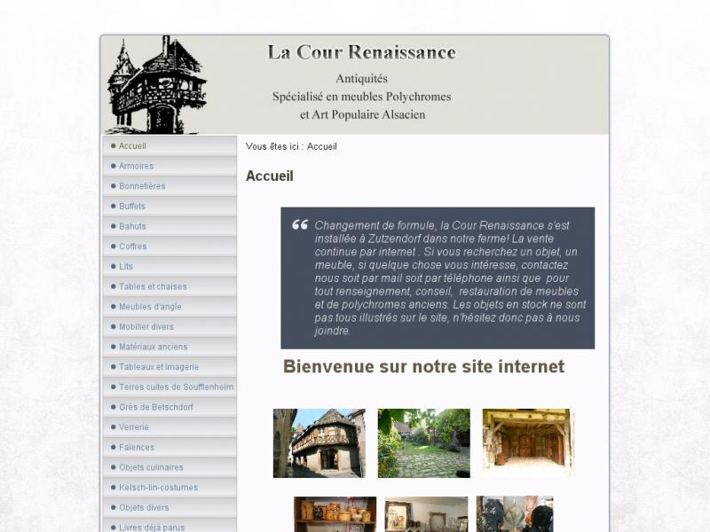 La Cour Renaissance - Strasbourg