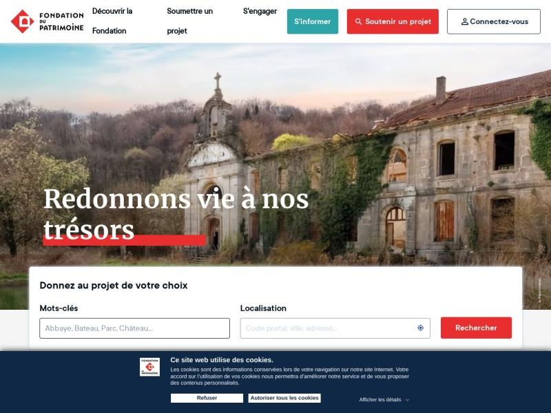 Fondation du Patrimoine - www.fondation-patrimoine.org