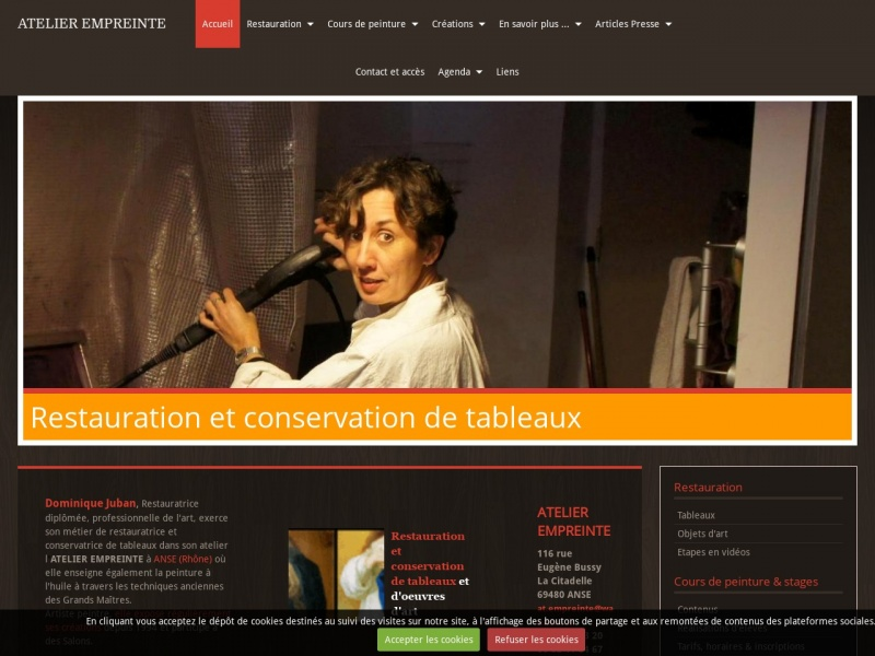 Dominique Juban - Atelier Empreinte - Anse