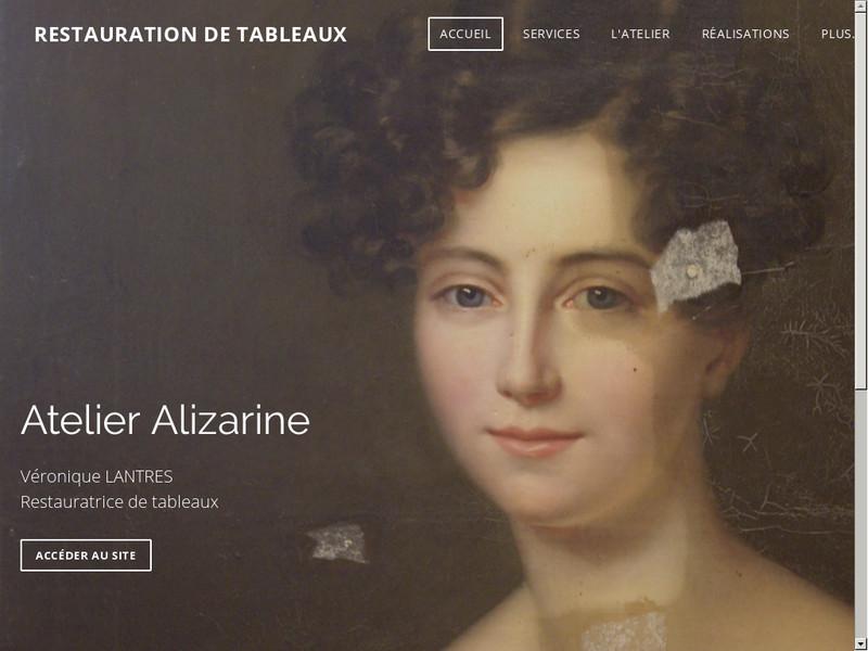 Atelier Alizarine - Véronique Lantrès - www.restaurationtableaux-france.com