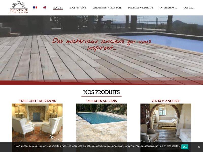 Provence Matériaux Anciens - Comps