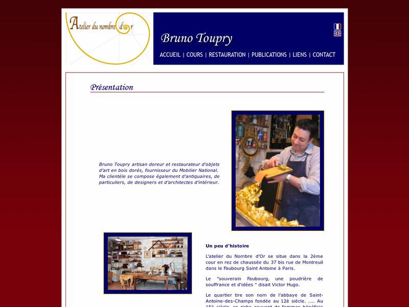 Atelier du Nombre d'Or - Bruno Toupry - www.nombredor.com