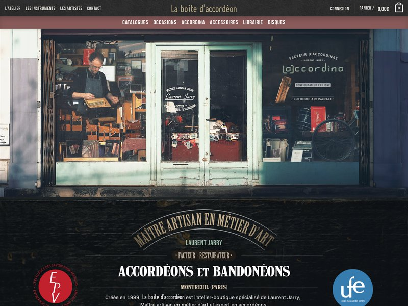 La Boîte d'Accordéon - Montreuil