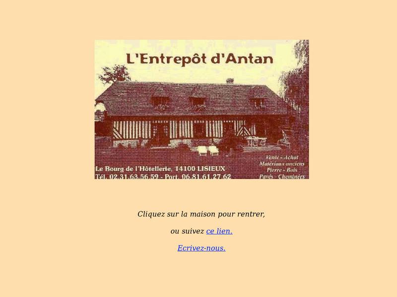 L'Entrepôt d'Antan - L'Hotellerie
