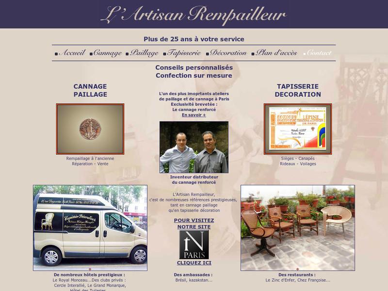 L'Artisan Rempailleur - Paris 14e