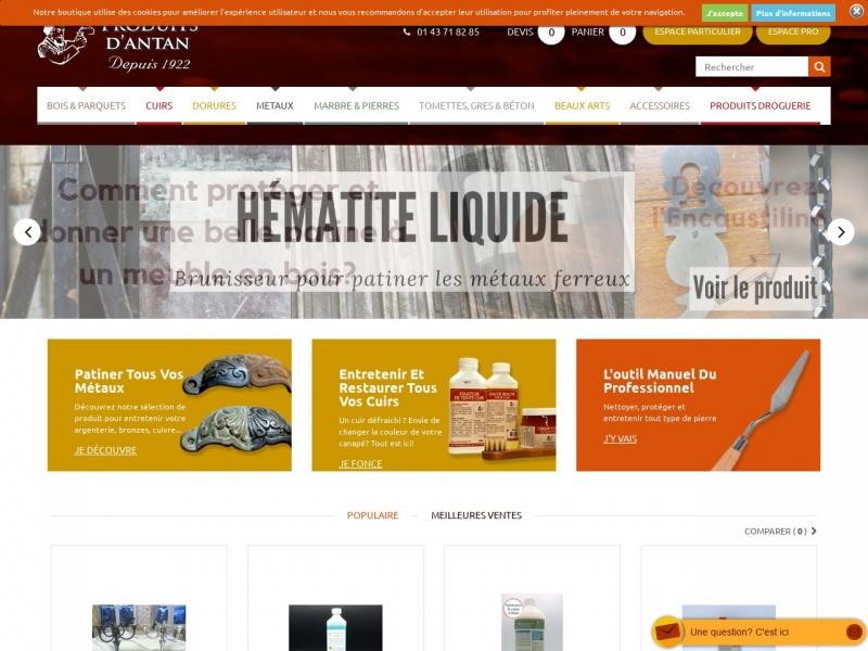 Produits d'Antan - PMSB - Paris 11e