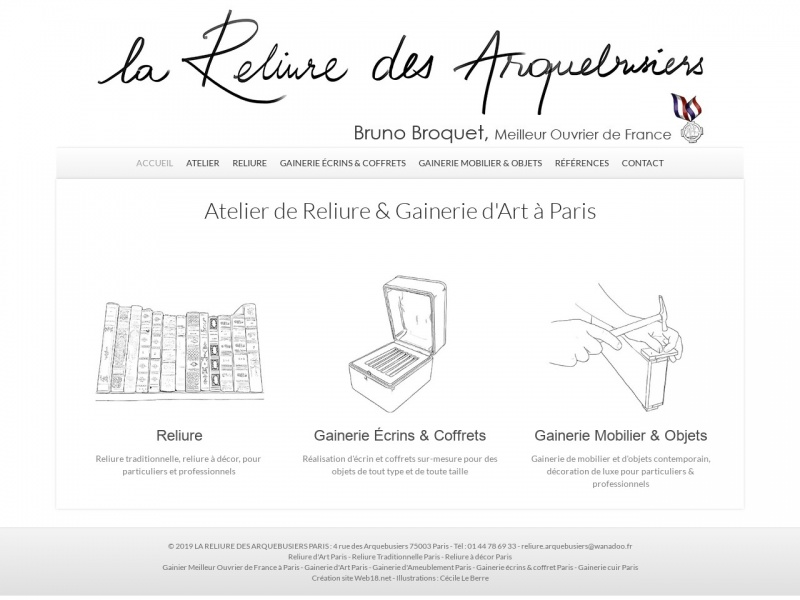 La Reliure des Arquebusiers - Paris 3e
