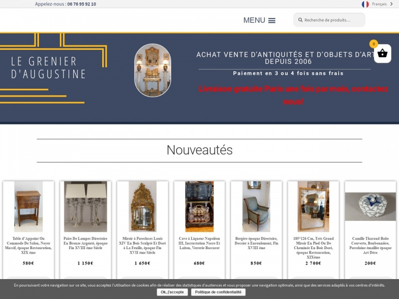Le Grenier d'Augustine - legrenierdaugustine.com