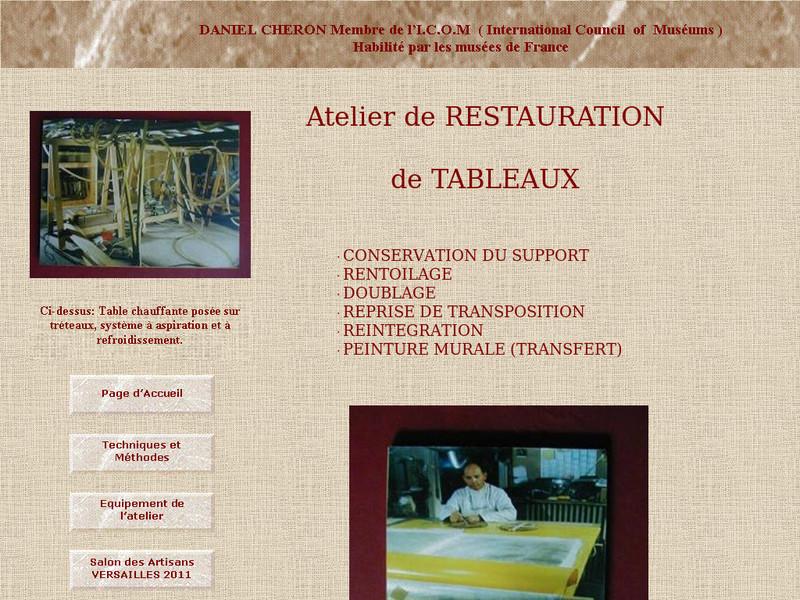 Atelier Daniel Chéron - Versailles