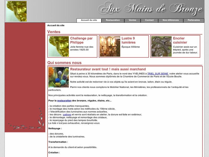 Aux Mains de Bronze - Triel sur Seine