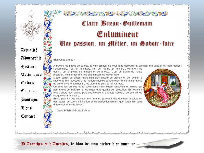 Claire Biteau Guillemain - Maulévrier