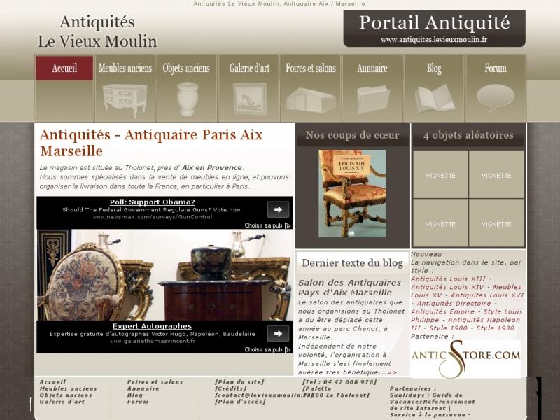 Antiquités Le Vieux Moulin - www.levieuxmoulin.fr