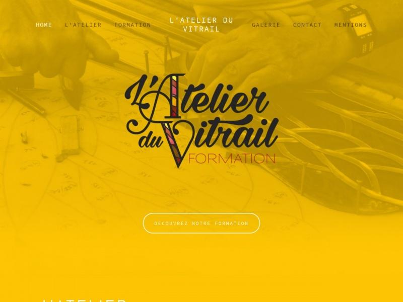 L'Atelier du Vitrail - Elisabeth Brenas-Pech - Carcassonne