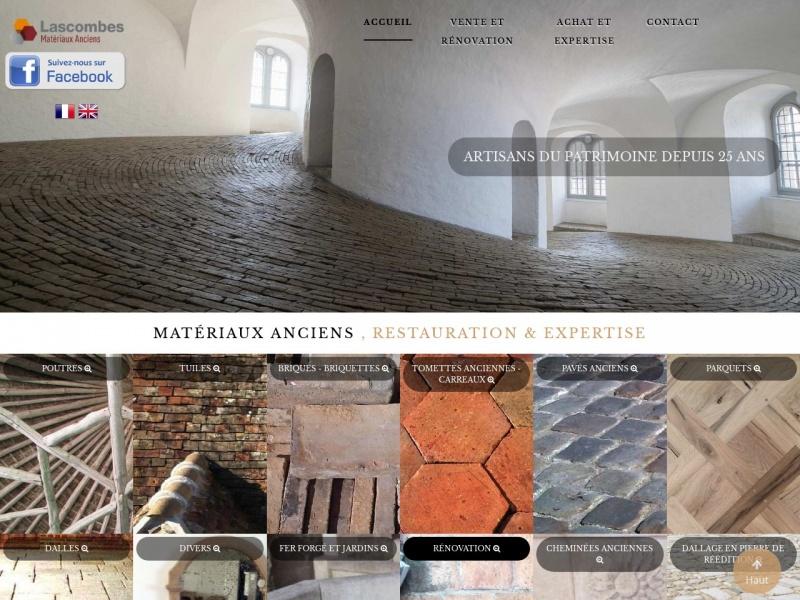Lascombes Matériaux Anciens - Soindres