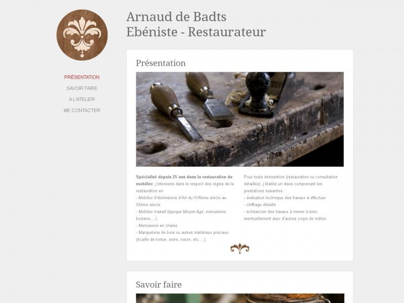 Arnaud de Badts - Rocquemont