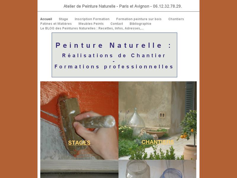 Peintures Naturelles - Elise Orrier - Avignon