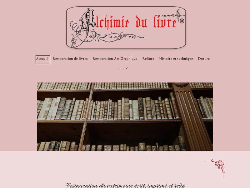 Alchimie du Livre - Nathalie Courdavault - Tournus