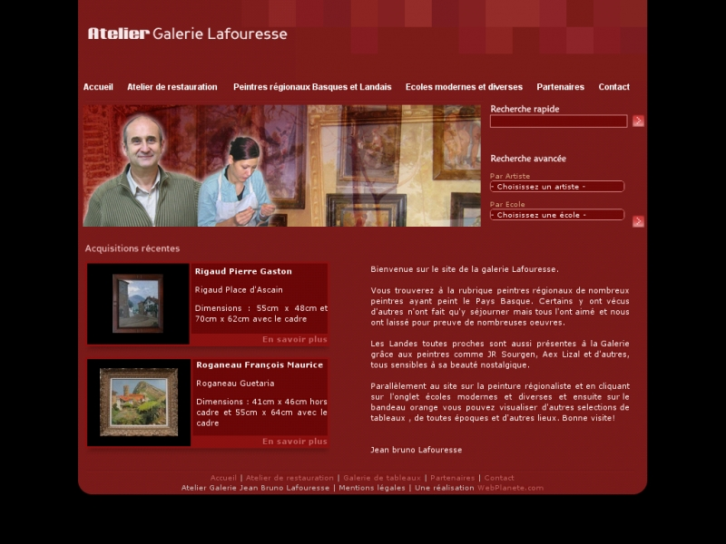 Atelier Galerie Lafouresse - Bayonne