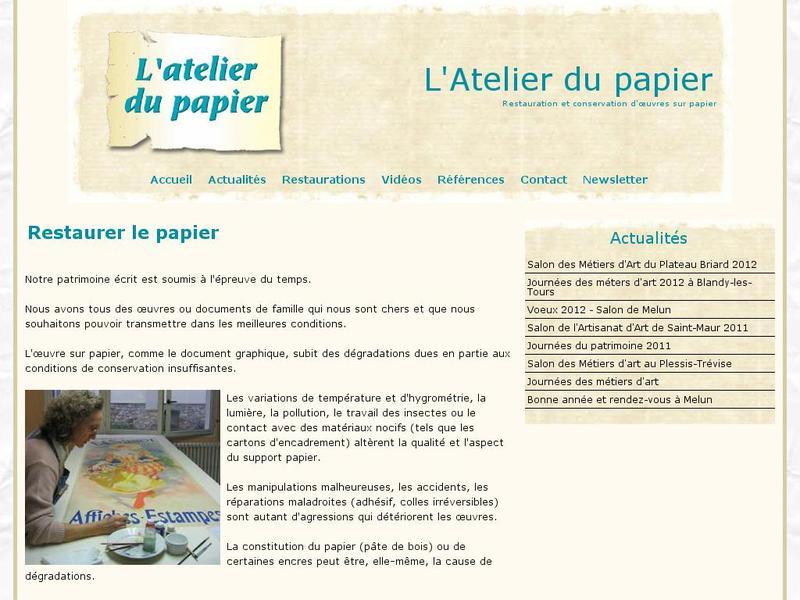 L'Atelier du Papier - Dammartin sur Tigeaux