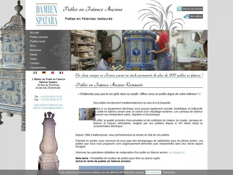 L'Atelier du Poêle en Faïence - Damien Spatara - Kaltenhouse