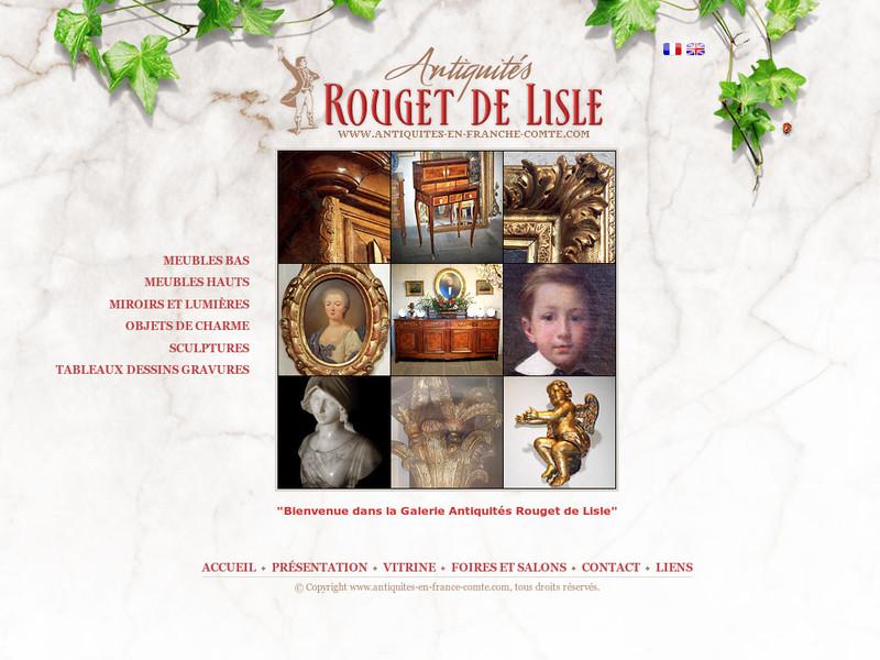 Antiquités Rouget de L'Isle - www.antiquites-en-franche-comte.com