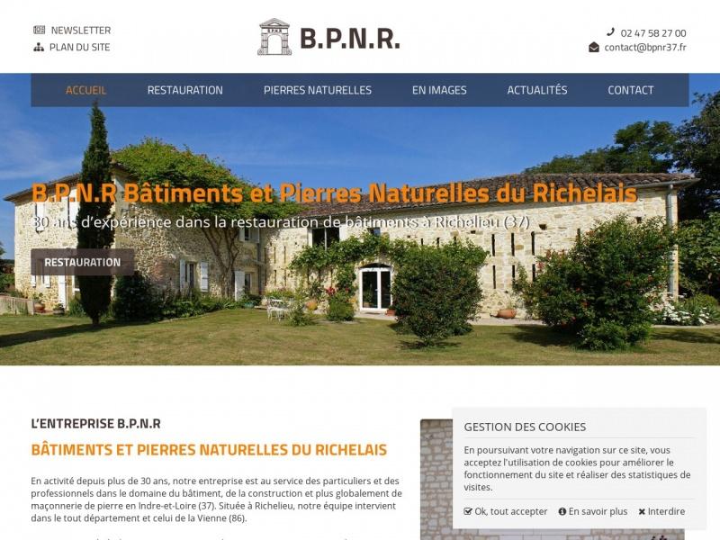 BPNR - Bâtiments et Pierres Naturelles du Richelais - Richelieu