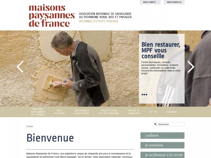 Maisons Paysannes de France - maisons-paysannes.org