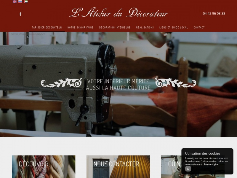 L'Atelier du Décorateur - Ets Camberoque - Aix en Provence