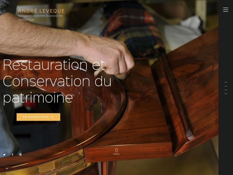 André Lévèque - Montlouis sur Loire