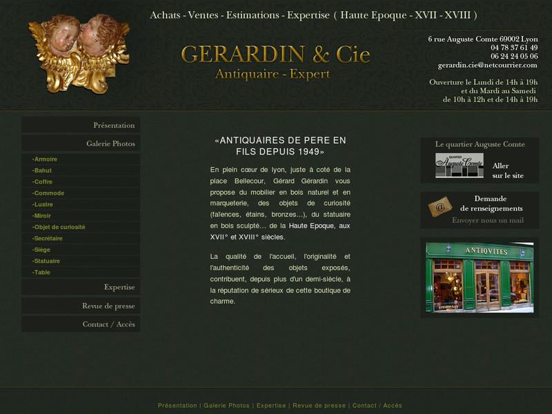 Gerardin & Cie - Lyon 2e