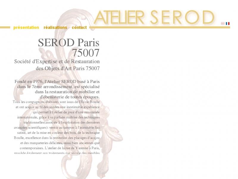 Atelier SEROD - Paris 7e