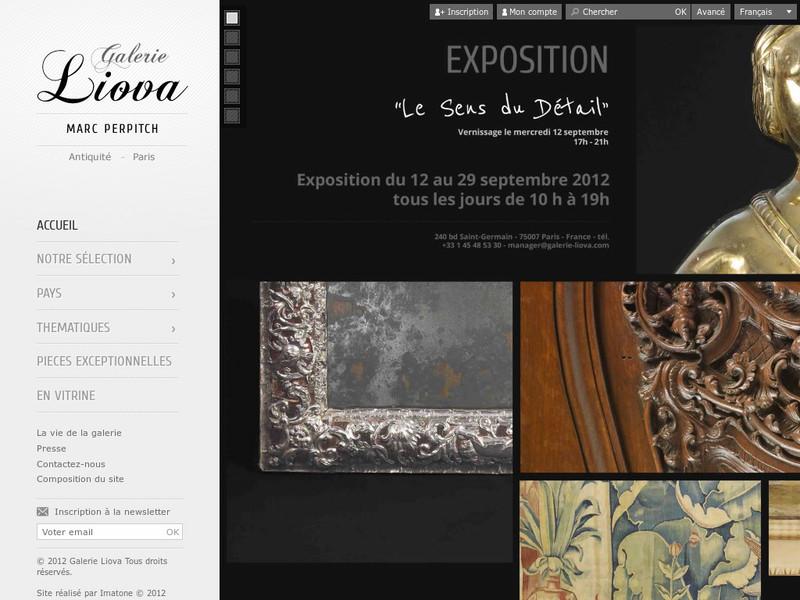 Galerie Liova - Marc Perpitch - Paris 7e