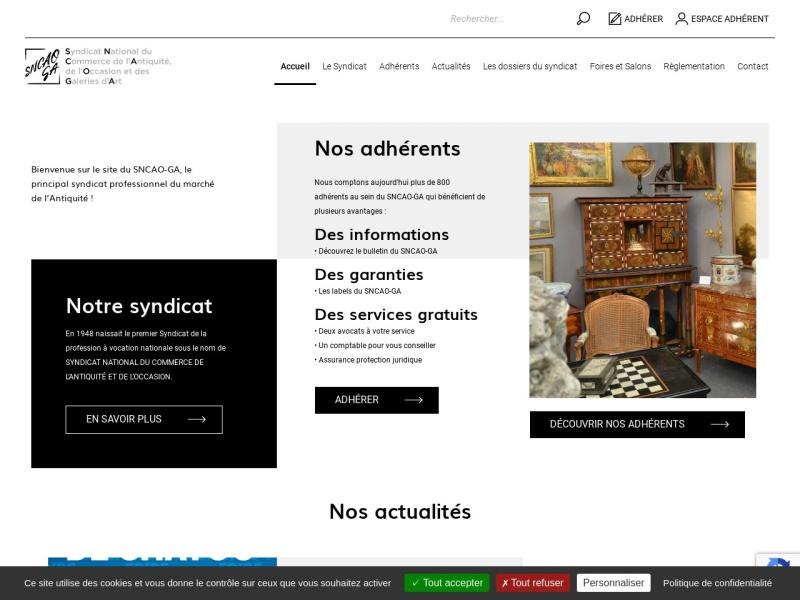 SNCAO - Syndicat National du Commerce de l'Antiquité et de l'Occasion - Paris 9e