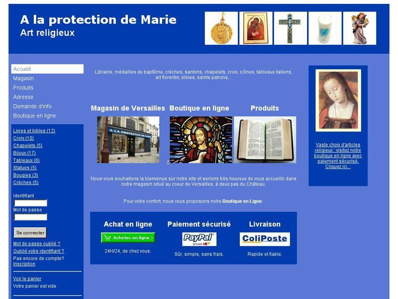 A La Protection de Marie - Versailles
