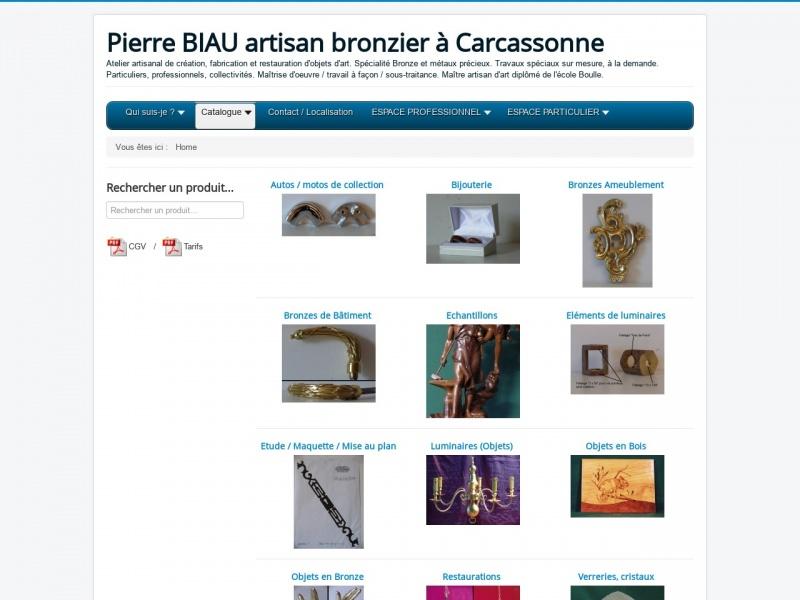 Pierre Biau - Carcassone