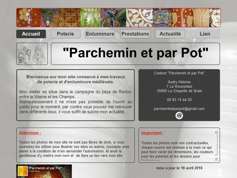 Parchemin et par Pot - La Chapelle de Brain