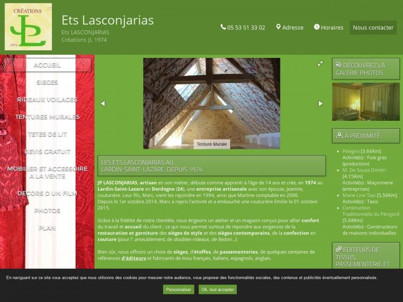 Établissement Lasconjarias SARL - Le Lardin Saint Lazare