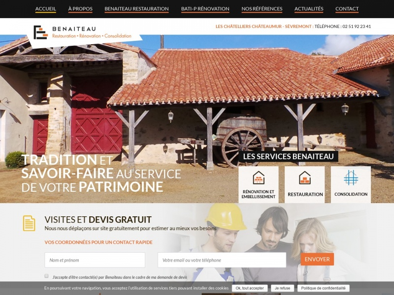 Entreprise Benaiteau - Les Châtelliers Châteaumur