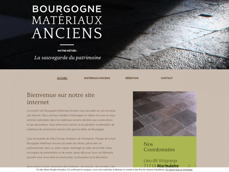 Bourgogne Matériaux Anciens - Marmagne