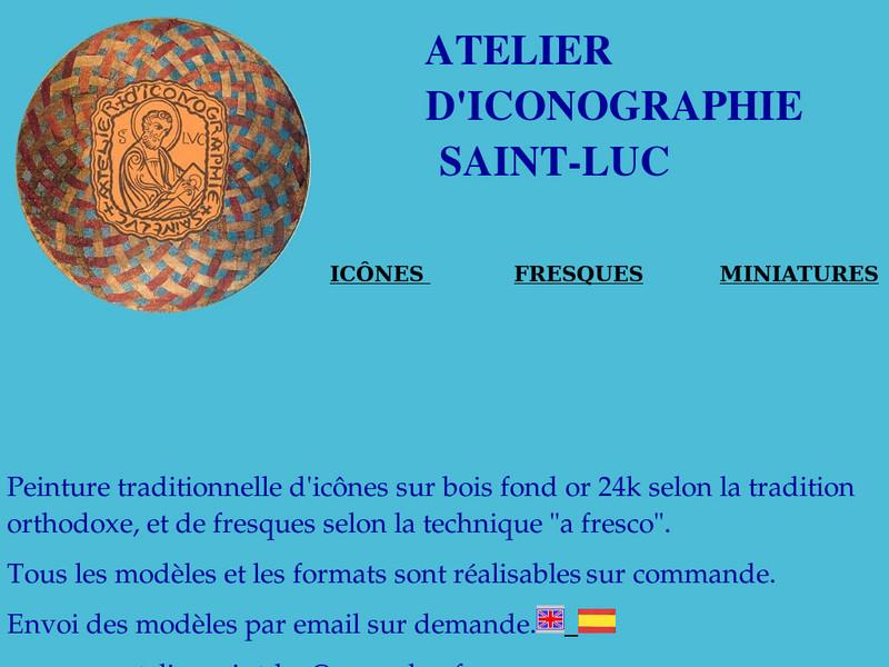 Atelier Saint Luc - Iconographie -