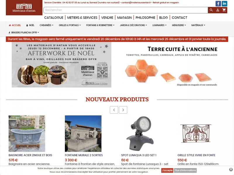 Les Matériaux d'Antan - Aix en Provence