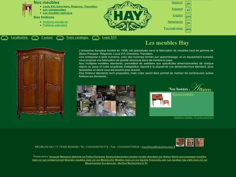 Meubles Hay - Boismé