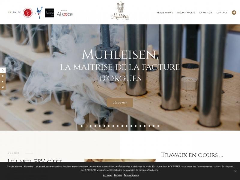 Manufacture d'Orgues Muhleisen - Strasbourg