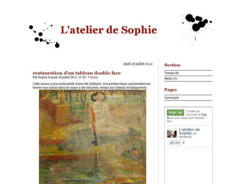 L'Atelier de Sophie - Bruxelles